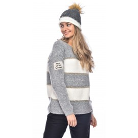 Pull Banana Moon Caissy Specia Gris Chiné