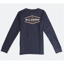 Junior Long Sleeve Tee Shirt BILLABONG VISTA Navy
