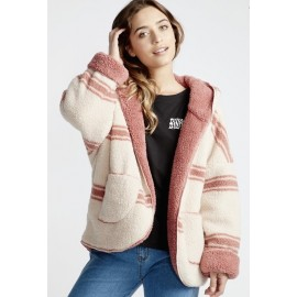 BILLABONG Reversible Cardigan Gums Stone Rose