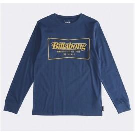 Tee Shirt Manches Longues Junior BILLABONG Trade Mark Navy