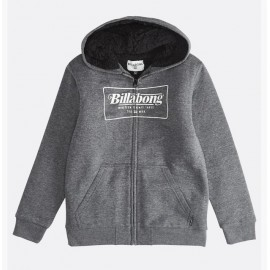 Sweat Junior Doublé Sherpa BILLABONG Trade Mark Black Heather