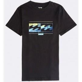 Billabong Inversed Black Junior Tee Shirt