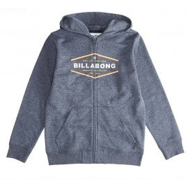 BILLABONG Vista Navy Junior Zip Sweatshirt