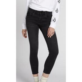 Pantalon Femme VOLCOM Rockout III Skinny Vintage Black