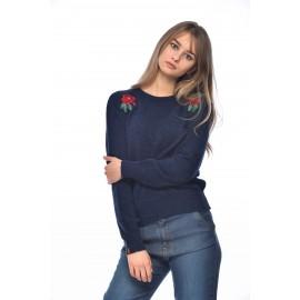 Sweater Banana Moon Sallins Longbay Navy