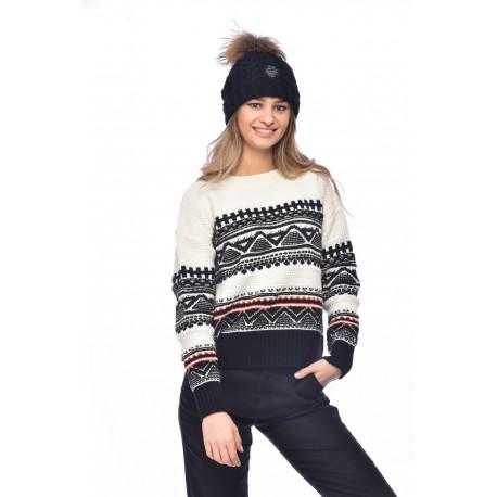 BANANA MOON Dublin Listowel Ecru Listowel Sweater