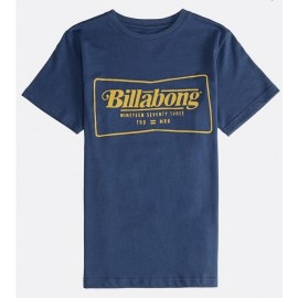 Tee Shirt Junior BILLABONG Tradermark Dark Blue