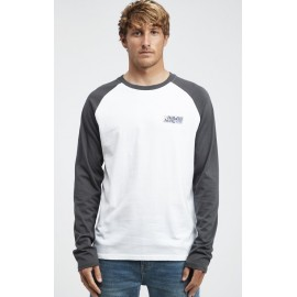 Billabong Super 8 Asphalt Long Sleeve Men's T-Shirt