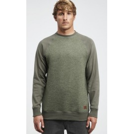 BILLABONG Men's Sweater Crew Balance Pine