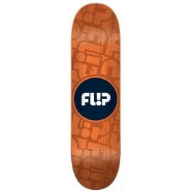 "Flip Odyssey Cell Orange 8.25"" Skateboard Deck"