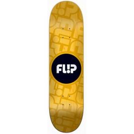 "Flip Odyssey Cell Yellow 8.0"" Skateboard Deck"