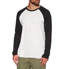 Men's T-Shirt Long Sleeve ELEMENT off White