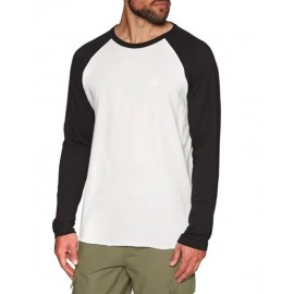 Tee Shirt Manches Longues Homme ELEMENT off White