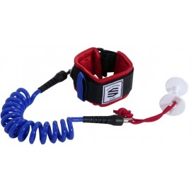 Leash Bodyboard Biceps Sniper Moz Navy Red