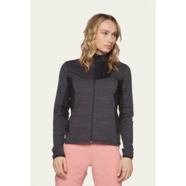 Women's PROTEST Roslake 19 Full Zip True Black Top