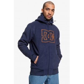 New Star Men's Sherpa Fleece Zip Fleece Sweatshirt
