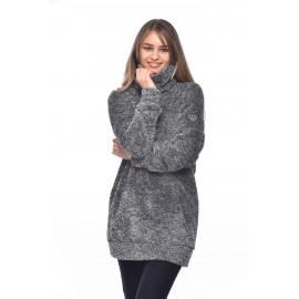 BANANA MOON long sweater Loelia Myway Gray Heather