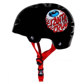 Casque Junior Bullet Santa Cruz Eyeball Gloss Black