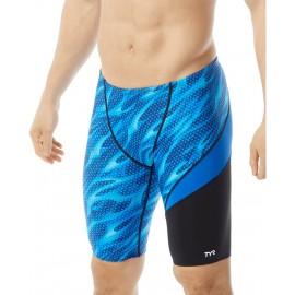 Swimsuit Men TYR Reaper Wave Jammer Blue