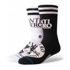 Socks STANCE Skate Antihero Black