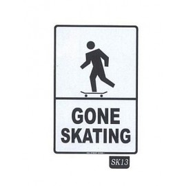 Plaque ALU Gone Skating