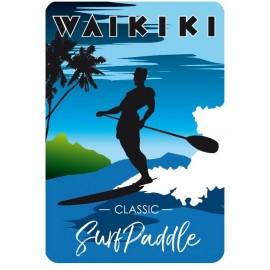 Plaque ALU SUP Waikiki