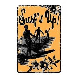 Plaque métal ALU Surf S Up