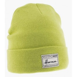 Mixed Beanie HERMAN Edmond 051 Lined Plush Anis