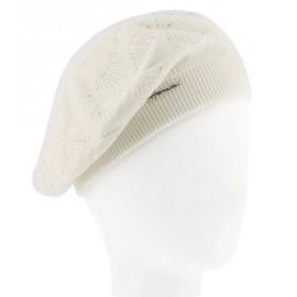 Béret Femme HERMAN Louise 028 Strass Blanc