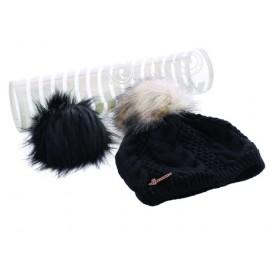 Boite Bonnet Femme HERMAN Maggy 8604 ND Noir