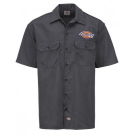 Dickies Clintondale Work Shirt Charcoal Grey