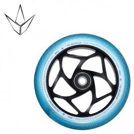Blunt Tri Bearing Wheel 120mm X 30mm Black Teal