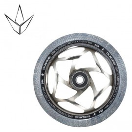 Blunt Tri Bearing Wheel 120mm X 30mm Chrome Clear