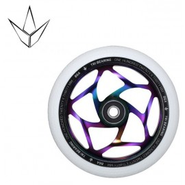 Blunt Tri Bearing Wheel 120mm X 30mm Oil Slick White