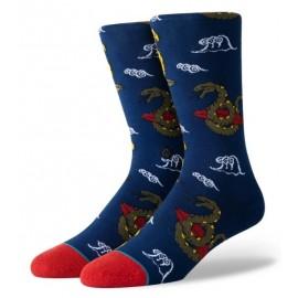 STANCE Get Snaked Navy Socks