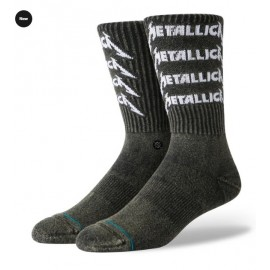 Chaussettes STANCE Metallica Stack Black
