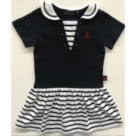 Papylou Veulette Navy Child Dress