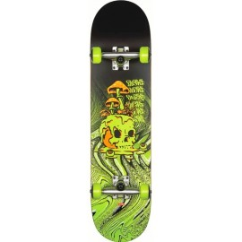 Skate Complet Globe G1 Nature Walk 8.125 Black Toxic Yellow