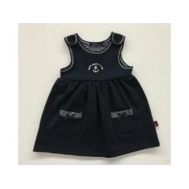 Papylou Ré Marine Baby Dress
