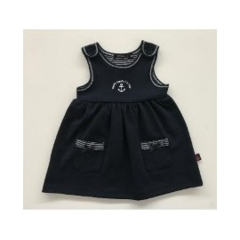 Papylou Ré Marine Baby Dress