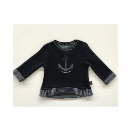 Haut Enfant Girl Paylou ARS Navy
