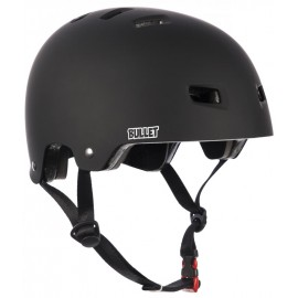 Bullet Deluxe Helmet Junior Medium Matt Black