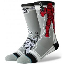 STANCE Star Wars Sw Storm Trooper Gray Socks