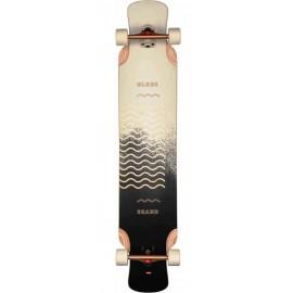"""Longboard Skate Globe Geminon XL 47"""" Spray Wave Black Copper"""
