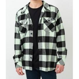 DICKIES Sacramento Flannelle Mint Shirt