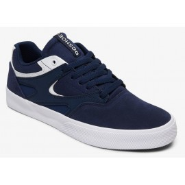 DC Shoes Kalis Vulc S Navy White