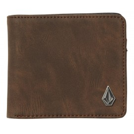 Portefeuille Volcom Slim Stone PU L Brown