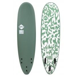 Surf Softech Bomber FCSII 6'10 Smoke Green White