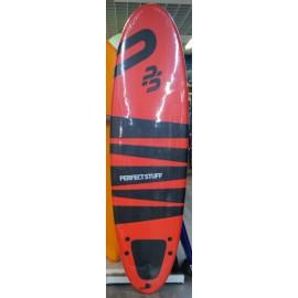 Surf Perfect Stuff 6'6 Egg Epoxy EVA Red
