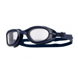 Swimming Goggles TYR OPS 2.0 Transition Navy Transparent
